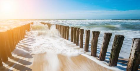 beach view at a sunny summer Day at Domburg Beach/ Netherlands- Stock Photo or Stock Video of rcfotostock | RC-Photo-Stock