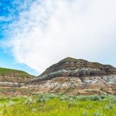beautiful Drumheller mountains in alberta canada- Stock Photo or Stock Video of rcfotostock | RC-Photo-Stock