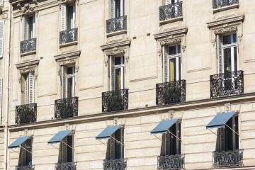 beautiful Haussmann buildings in paris at summer- Stock Photo or Stock Video of rcfotostock | RC-Photo-Stock