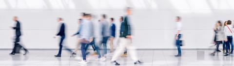 Beautiful motion blur of crowd of people walking. Early morning rush hours, busy modern life concept. Ideal for websites and magazines layouts- Stock Photo or Stock Video of rcfotostock | RC-Photo-Stock