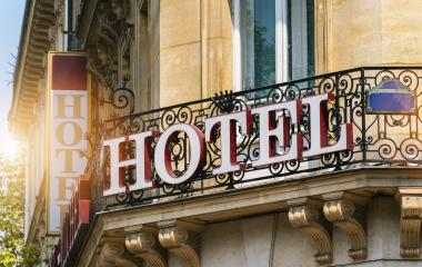 beautiful old hotel sign- Stock Photo or Stock Video of rcfotostock | RC-Photo-Stock