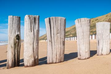 beautiful Sand beach at Domburg, Netherlands- Stock Photo or Stock Video of rcfotostock | RC-Photo-Stock