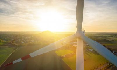 Beautiful sunset above the windmills on the field- Stock Photo or Stock Video of rcfotostock   RC-Photo-Stock