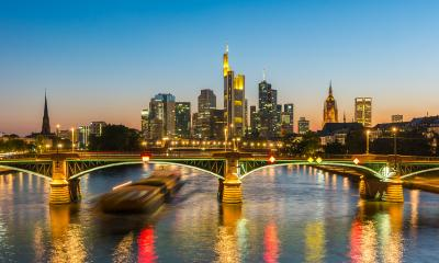 Beautiful view of Frankfurt am Main skyline at night, Germany- Stock Photo or Stock Video of rcfotostock | RC-Photo-Stock