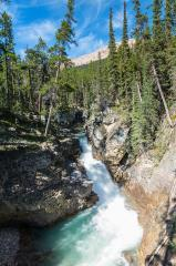 Beauty creek canyon Falls at jasper canada  : Stock Photo or Stock Video Download rcfotostock photos, images and assets rcfotostock | RC-Photo-Stock.: