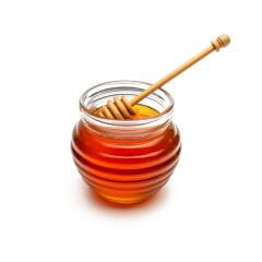 Bee products with honey in jar and wooden stick isolated on white background : Stock Photo or Stock Video Download rcfotostock photos, images and assets rcfotostock | RC-Photo-Stock.: