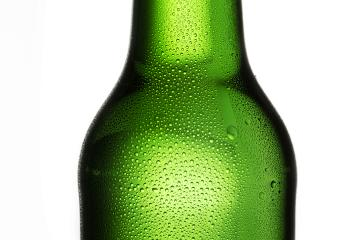 Beer bottle with drops of dew condensation alcohol- Stock Photo or Stock Video of rcfotostock | RC-Photo-Stock