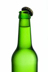 Beer bottle with kron cork and drops of condensation dew party drink alcohol : Stock Photo or Stock Video Download rcfotostock photos, images and assets rcfotostock | RC-Photo-Stock.: