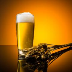 Beer with wheat ears : Stock Photo or Stock Video Download rcfotostock photos, images and assets rcfotostock | RC-Photo-Stock.: