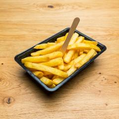 Belgian fries in a black shell- Stock Photo or Stock Video of rcfotostock | RC-Photo-Stock