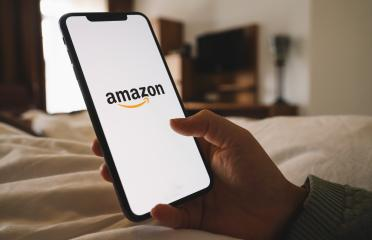 BERLIN, GERMANY AUGUST 2019: iPhone Xs showing Amazon logo shopping online. Amazon.com, Inc. American international electronic commerce company.- Stock Photo or Stock Video of rcfotostock | RC-Photo-Stock