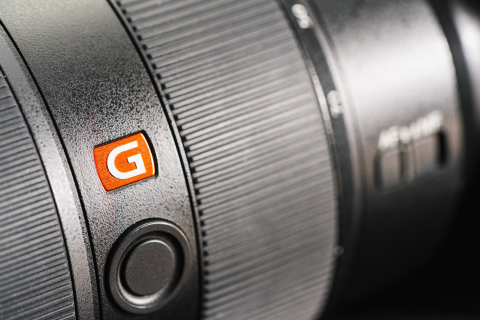 BERLIN, GERMANY DECEMBER 2019: Close-Up of a Sony G Master lens on the New Sony Alpha 7R IV mirrorless camera- Stock Photo or Stock Video of rcfotostock | RC-Photo-Stock