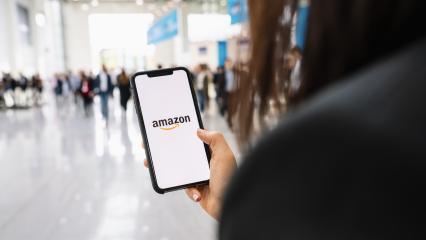 BERLIN, GERMANY JANUARY 2020:  iPhone Xs showing Amazon logo shopping online. Amazon.com, Inc. American international electronic commerce company.- Stock Photo or Stock Video of rcfotostock | RC-Photo-Stock
