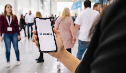 BERLIN, GERMANY JANUARY 2020: Woman hand holding iphone Xs with logo of Dropbox application. Dropbox is a file hosting service operated by Dropbox- Stock Photo or Stock Video of rcfotostock | RC-Photo-Stock