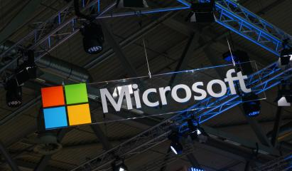 BERLIN, GERMANY JULY 2019:  Microsoft logo and emblem. Microsoft is an international corporation that develops, supports and sells computer software and services worldwide.- Stock Photo or Stock Video of rcfotostock | RC-Photo-Stock