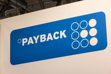 BERLIN, GERMANY JULY 2019:  Payback GmbH Logo. Payback is a German loyalty programme and a multichannel marketing platform : Stock Photo or Stock Video Download rcfotostock photos, images and assets rcfotostock | RC-Photo-Stock.: