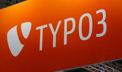 BERLIN, GERMANY JULY 2019:  Typo 3 logo. Typo 3 is the most widely used Enterprise Content Management System with no License Cost.- Stock Photo or Stock Video of rcfotostock | RC-Photo-Stock