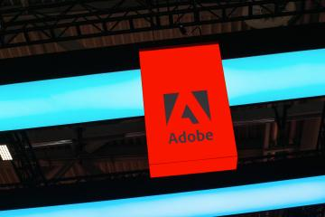 BERLIN, GERMANY JULY 2019: Adobe Systems Logo. Adobe is a multinational software company that produces and sells multimedia and creativity software.- Stock Photo or Stock Video of rcfotostock | RC-Photo-Stock