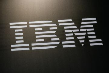 BERLIN, GERMANY JULY 2019: IBM logo on black background. IBM is an American multinational technology and consulting corporation. IBM has 12 research laboratories worldwide.- Stock Photo or Stock Video of rcfotostock | RC-Photo-Stock
