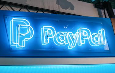 BERLIN, GERMANY JULY 2019: Paypal logo neon sign. PayPal Holdings, Inc. is an American company operating a worldwide online payments system.- Stock Photo or Stock Video of rcfotostock | RC-Photo-Stock