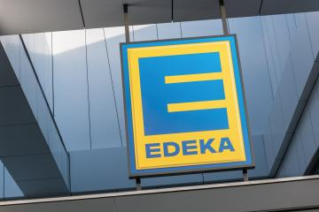 BERLIN, GERMANY JULY 2019: Sign at the entrance to an EDEKA store in Germany - The EDEKA Group is the largest German supermarket corporation- Stock Photo or Stock Video of rcfotostock | RC-Photo-Stock