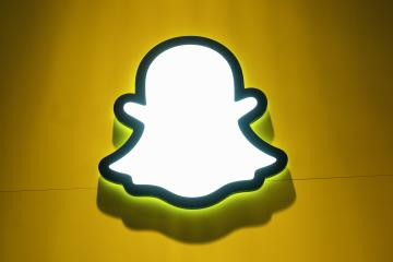 BERLIN, GERMANY JULY 2019: Snapchat logo with rainbow printed on a paper wall. Snapchat is a popular social media application for sharing messages, images and videos. : Stock Photo or Stock Video Download rcfotostock photos, images and assets rcfotostock | RC-Photo-Stock.: