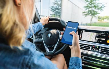 BERLIN, GERMANY JULY 2019: Woman hand holding iphone Xs with logo of Facebook application in a car. Facebook is an online social networking service founded in February 2004 by Mark Zuckerberg.- Stock Photo or Stock Video of rcfotostock | RC-Photo-Stock