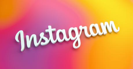 BERLIN, GERMANY JUNE 2021: Instagram logo for web sites, mobile applications, banners on colorful plastic background. The Social network Instagram is one of the largest social networks in the world.- Stock Photo or Stock Video of rcfotostock | RC-Photo-Stock