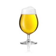 Biertulpe beer glass with beer foam alcohol golden crown on a white background- Stock Photo or Stock Video of rcfotostock | RC-Photo-Stock