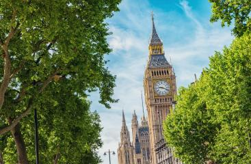 Big Ben and Houses of parliament at summer in London, UK- Stock Photo or Stock Video of rcfotostock | RC-Photo-Stock
