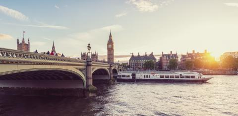 Big Ben and Westminster at sunset, London, UK- Stock Photo or Stock Video of rcfotostock | RC-Photo-Stock