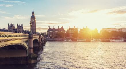 Big Ben and Westminster Bridge at dusk, London- Stock Photo or Stock Video of rcfotostock | RC-Photo-Stock