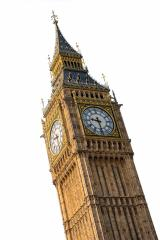 Big Ben isolated on white backgrond London, UK- Stock Photo or Stock Video of rcfotostock | RC-Photo-Stock