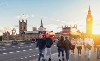 Big Ben, Westminster Bridge and red double decker bus in London, England, United Kingdom- Stock Photo or Stock Video of rcfotostock | RC-Photo-Stock