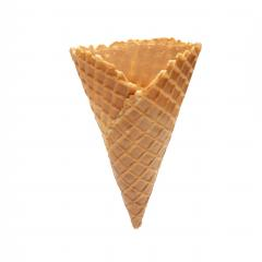 Big Empty or blank ice cream crispy wafer cone isolated on white background : Stock Photo or Stock Video Download rcfotostock photos, images and assets rcfotostock | RC-Photo-Stock.: