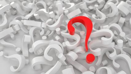 big red question mark on heap of question marks,   FAQ concept image - 3D Rendering- Stock Photo or Stock Video of rcfotostock | RC-Photo-Stock