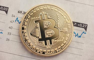 Bitcoin course, exchange rate, current price- Stock Photo or Stock Video of rcfotostock | RC-Photo-Stock