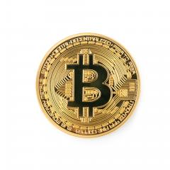 Bitcoin isolated on white background- Stock Photo or Stock Video of rcfotostock | RC-Photo-Stock