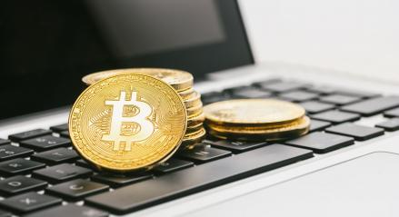 Bitcoin-Cash Digital cryptocurrency on notebook- Stock Photo or Stock Video of rcfotostock | RC-Photo-Stock
