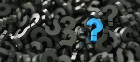 Black and blue question marks background- Stock Photo or Stock Video of rcfotostock | RC-Photo-Stock