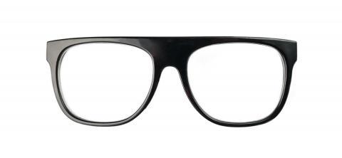black nerd Glasses isolated on white background- Stock Photo or Stock Video of rcfotostock | RC-Photo-Stock