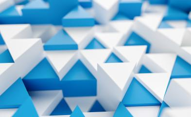 blue and white background with triangles - 3d rendering  : Stock Photo or Stock Video Download rcfotostock photos, images and assets rcfotostock | RC-Photo-Stock.: