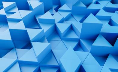 blue background with triangles - 3d rendering - Stock Photo or Stock Video of rcfotostock | RC-Photo-Stock