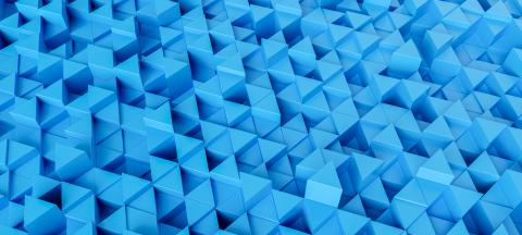 blue background with triangles, banner size - 3d rendering- Stock Photo or Stock Video of rcfotostock | RC-Photo-Stock