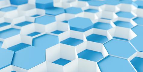 blue Hexagon honeycomb Background - 3D rendering - Illustration  : Stock Photo or Stock Video Download rcfotostock photos, images and assets rcfotostock | RC-Photo-Stock.: