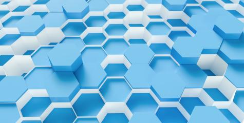 blue Hexagon honeycomb Background - 3D rendering - Illustration - Stock Photo or Stock Video of rcfotostock | RC-Photo-Stock