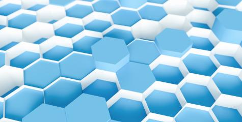 blue navy Hexagon Background - 3D rendering - Illustration - Stock Photo or Stock Video of rcfotostock | RC-Photo-Stock