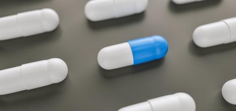 blue pills or capsules lies in rows, medicine tablets antibiotic, Pharmacy theme- Stock Photo or Stock Video of rcfotostock | RC-Photo-Stock