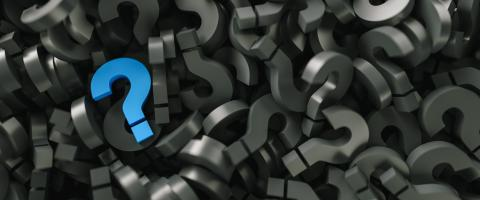 blue question mark on a background of black signs- Stock Photo or Stock Video of rcfotostock | RC-Photo-Stock