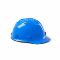 blue safety helmet on white background. 3D rendering- Stock Photo or Stock Video of rcfotostock | RC-Photo-Stock